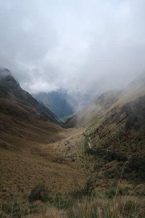 View from the highest pass - 4200m above sea level