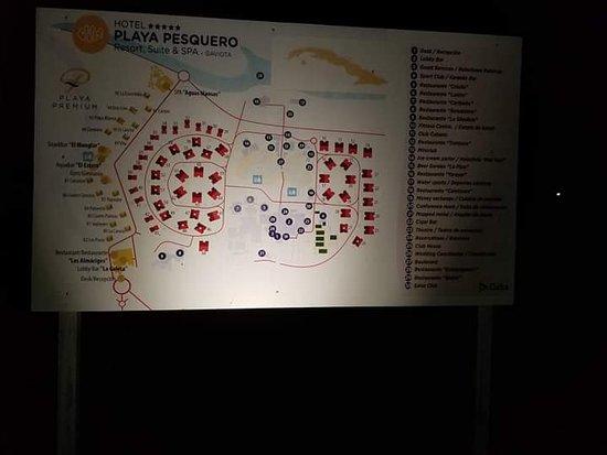 Playa Pesquero: Plan