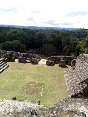 Top of Ca' ana Sky Palace at Caracol
