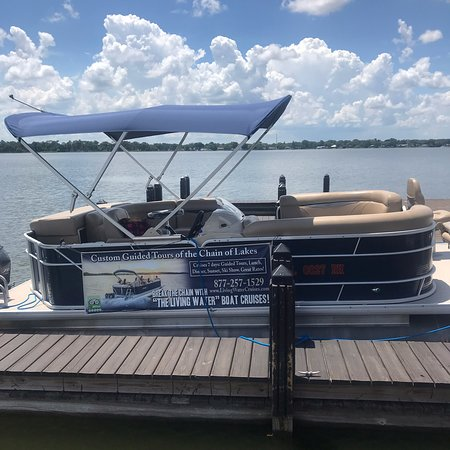 Winter Haven, FL: The Living Water Pontoon Boat Cruises