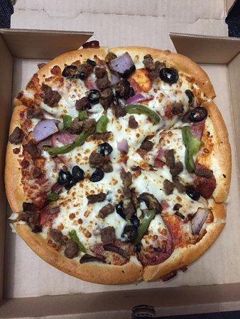 Delightful Personal Pan Pizza
