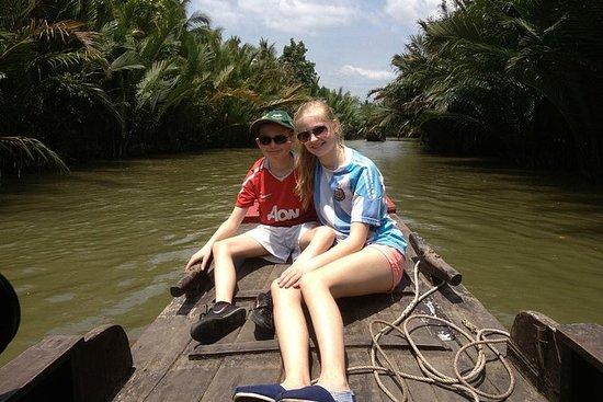 BEN TRE  - 来自胡志明市的真正的湄公河三角洲1日游