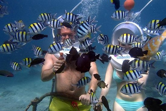 Underwater Sea Walking in Nusa Dua