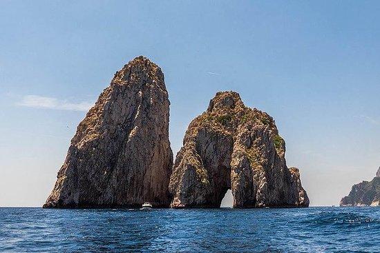 Visite guidée de Capri et d'Anacapri...