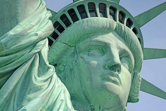 Privéstandbeeld van Liberty en Ellis ...
