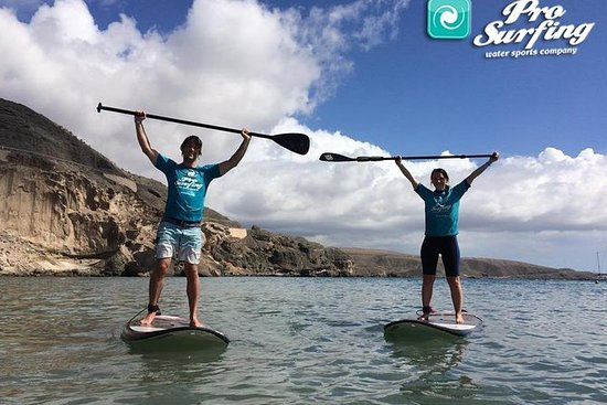 Excursion en stand-up paddle et...