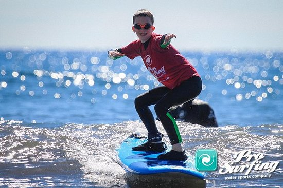 Curso de surf en Gran Canaria