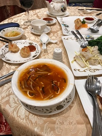 Crown Princess Fine Dining: Hot and Sour Soup