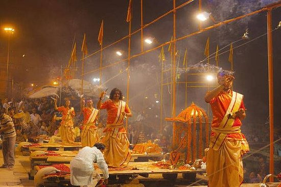 Full-Day Varanasi Tour med Sunrise...