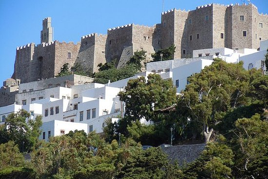 Patmos from Samos
