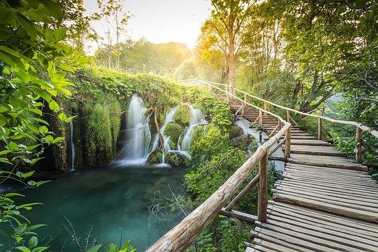 Viagem de um dia ao Lago Plitvice...