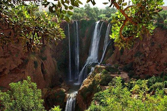Marrakech till Ouzoud Waterfalls ...
