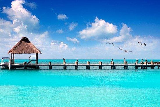 Blue Lagoon Bacalar fra Cancun: Blue Lagoon Bacalar from Cancun
