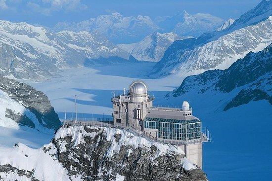 Viagem de trem de Jungfraujoch para...