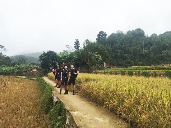 Cao Bang, Вьетнам: Amazing Northeast Vietnam Hard Trekking Tour.  Thank you, Mr Horree and family for traveling with us and always trust in our services. We look forward to welcoming you back soon with new challenges.   Join us now: http://bit.ly/2Q7aNdH