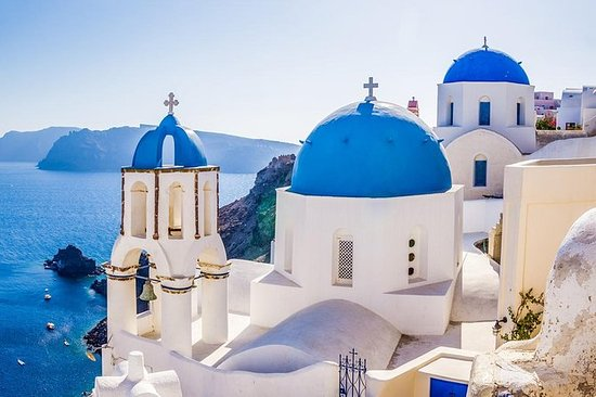 Santorini Blue Domes Half-Day Private...