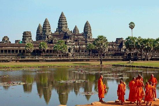 Angkor Wat Private Tagestour von Siem...
