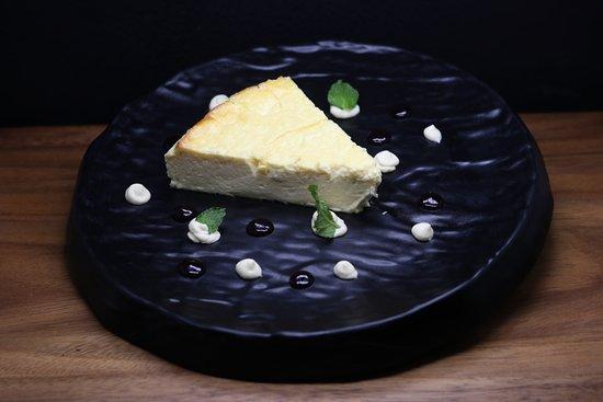 Savage Restaurant: Baked cheesecake