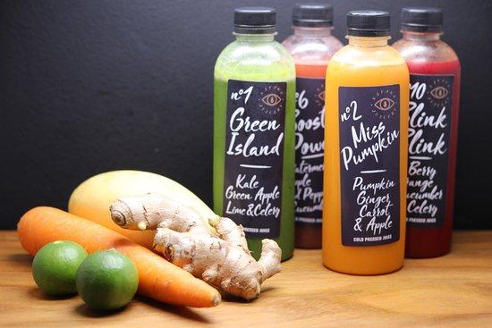 Savage Restaurant: Cold pressed juices