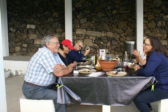 Almuerzo de barbacoa al aire libre