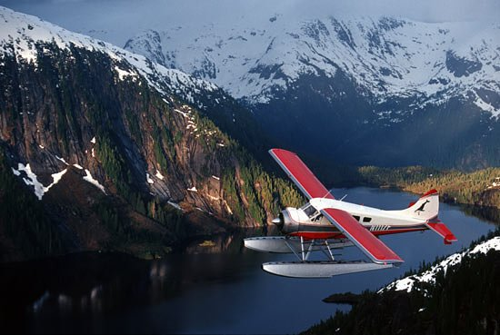 Ketchikan, AK: Island Wings flying through the Misty Fjords National Monument