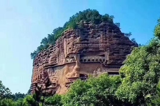 Private Tianshui Day Tour to Maiji Mountain Grottoes and Fuxi Temple...