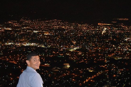 Night Tour for Views of Tegucigalpa...