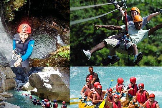 Rafting Canyoning y Zipline Adventure...