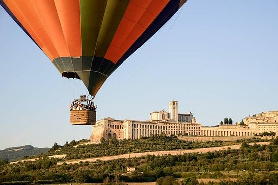 Balloon Adventures Italy, giro in