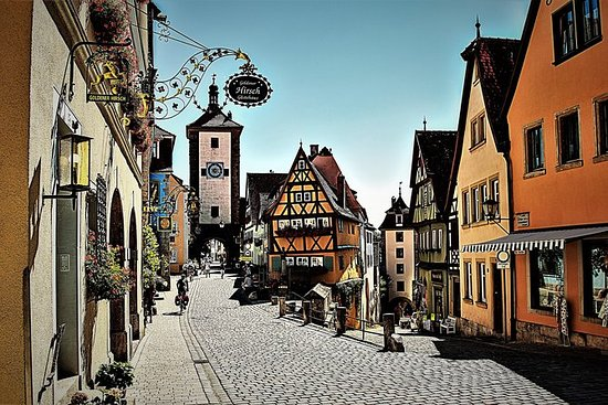 Romantic Road: Rothenburg ob der...