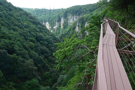 Grotter, Foss og Canyons på 1 dag