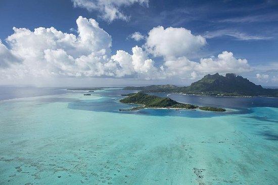 Vol au-dessus de Bora Bora et Tupai