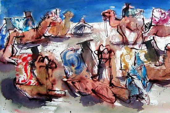 Excursão de artista em Agadir...