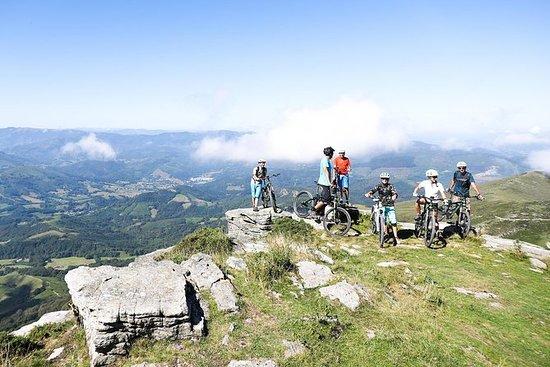 Paseo guiado en bicicleta de montaña...