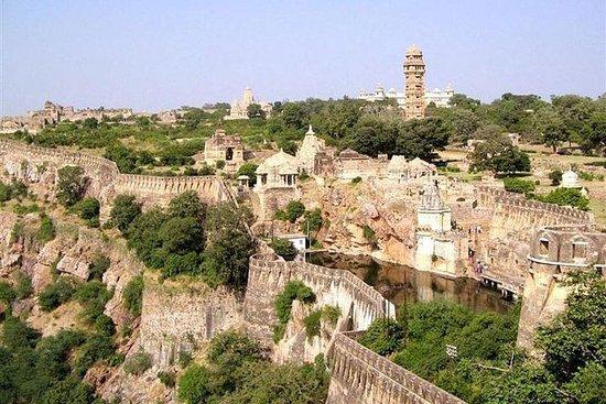 Forte histórico de Chittorgarh...