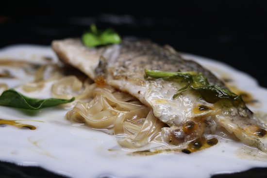 Snapper of Coconut Milk and Passion Fruit