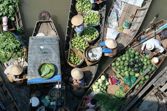 1-day Mekong Delta tour: Floating...