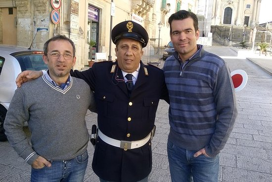 Commissioner Montalbano tour of the...