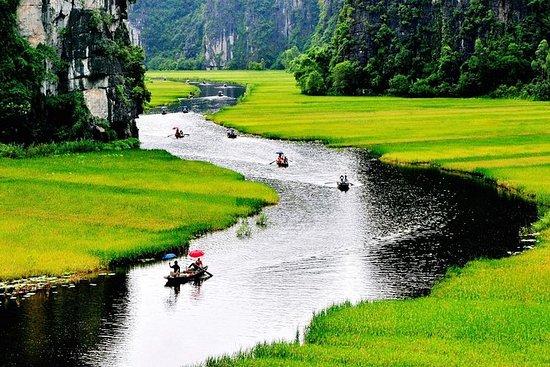 Hanoi till Tam Coc och Hoa Lu Ancient ...