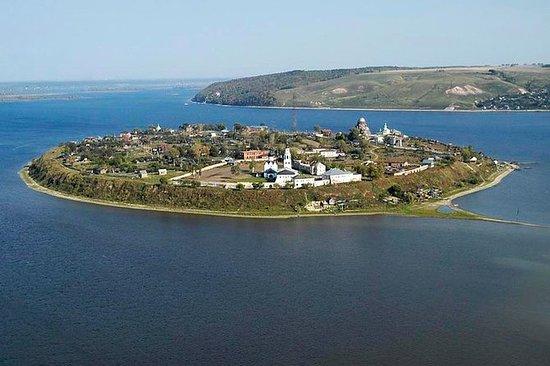 """在Sviyazhsk伏爾加""""島嶼城市""""的Ivan..."""