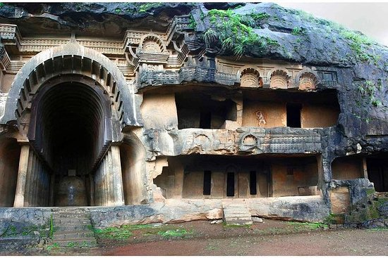 Ancient Buddhist caves tour in...