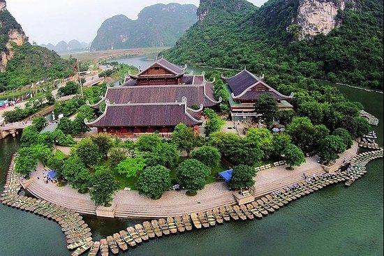 Tour en grupo Bai Dinh Pagoda y Trang...