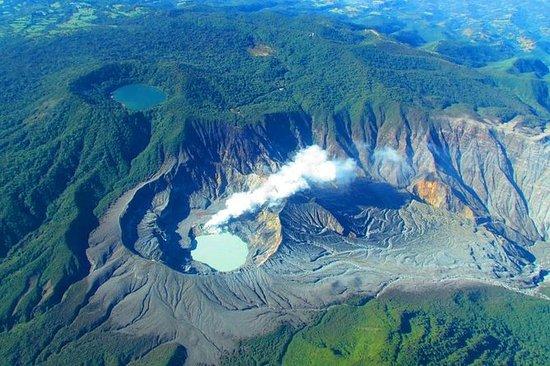 Poas Volcano plus La paz waterfall...