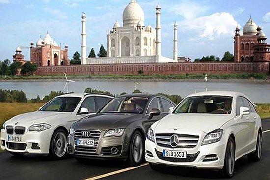 Taj Mahal viagem de carros de luxo