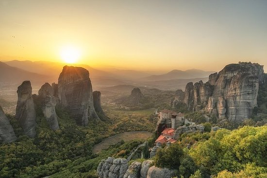 Sunset Meteora Private Photography...