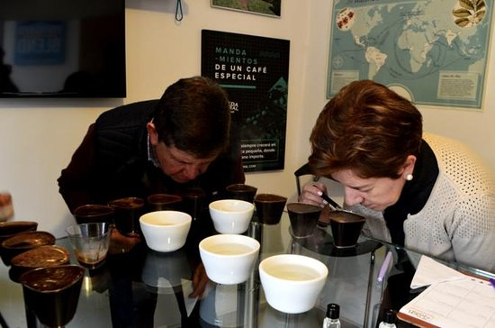 Coffee Master-Class at a Coffee...