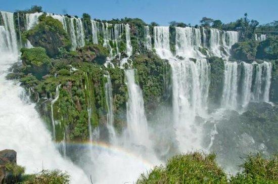 Visite des cascades de Foz do Iguaçu...