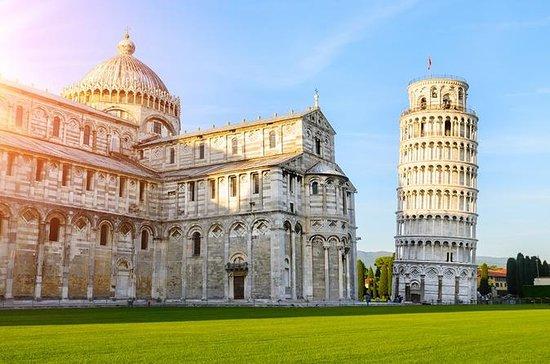 Höjdpunkter i Pisa med lutande torn och ...