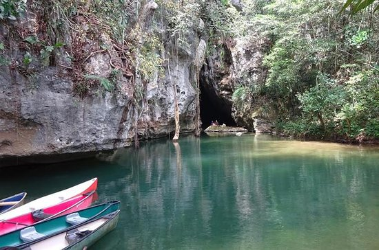 Cave Canoeing