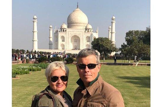 Noche en Agra con Taj Mahal, visita y...
